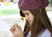 Romantic little girl Royalty Free Stock Image