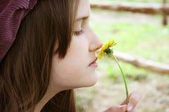 Romantic little girl Royalty Free Stock Photography