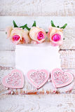 Romantic love background Stock Images