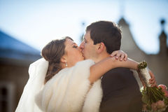 Romantic love charming young couple Royalty Free Stock Photos