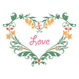 Romantic love heart Stock Photo
