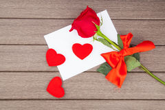 Romantic love letter Royalty Free Stock Photos