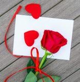 Romantic love letter Stock Photography
