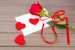 Romantic love letter Royalty Free Stock Photo