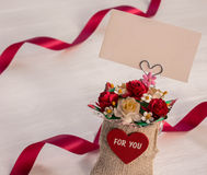 Romantic of love Royalty Free Stock Photo