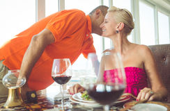 Romantic lunch Royalty Free Stock Photo