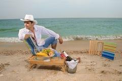 Romantic man Royalty Free Stock Image
