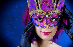 Romantic mask Royalty Free Stock Photo