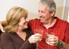 Romantic Mature Couple Stock Images