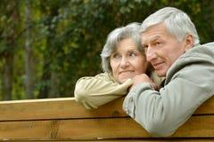 Romantic mature couple Royalty Free Stock Photos