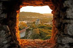 Romantic medieval village of Óbidos Stock Photography