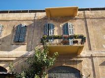 Romantic Mediterranean European style classical balcony Royalty Free Stock Photography