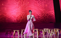 """Romantic memories-Dance drama """"The Dream of Maritime Silk Road"""". Dance drama """"The Dream of Maritime Silk Road"""" centers on the plot of two royalty free stock image"""