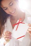 Romantic message Stock Photography