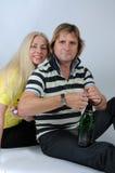 Romantic mid aged couple Stock Photo