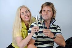 Romantic mid aged couple Royalty Free Stock Photo