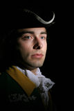 Romantic of military service. Romanticism of military service XIX or XVIII century Stock Image