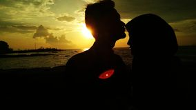 Romantic Moment Royalty Free Stock Images