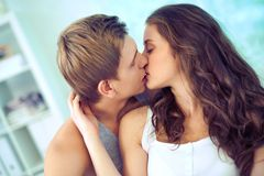 Romantic moment Royalty Free Stock Photography
