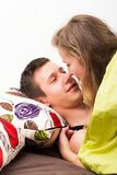Romantic Moment Royalty Free Stock Image