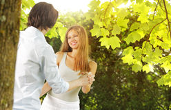 Romantic moments Stock Photography