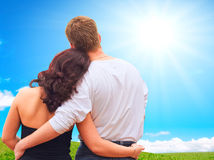 Romantic moments royalty free stock images