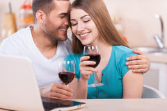 Romantic moments. Stock Images