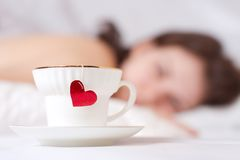 Romantic morning Royalty Free Stock Photography