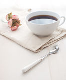 Romantic morning coffee Royalty Free Stock Photography