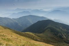Romantic mountain landscape in summer Stock Photography