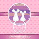 Romantic mouses Stock Photo