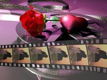 Romantic Movie Stock Photo