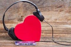 Romantic music concept Royalty Free Stock Photos