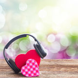 Romantic music concept Royalty Free Stock Photography