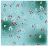 Romantic, natural, winter pattern Royalty Free Stock Image