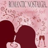 Romantic nostalgia background Royalty Free Stock Photography