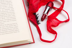 Romantic novel. A novel of the romantic genre, a concept Stock Images