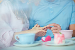 Romantic occasion Royalty Free Stock Image