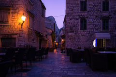 Romantic Old Town Streets Royalty Free Stock Photo