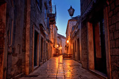 Romantic Old Town Streets Stock Image