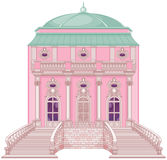 Romantic Palace for a Princess Stock Images