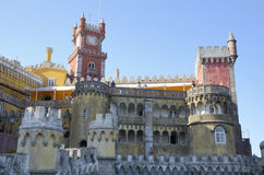 Romantic Palace in Sintra Royalty Free Stock Image