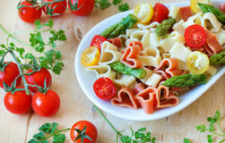 Romantic pasta Royalty Free Stock Image