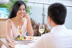 Romantic pastime Stock Image