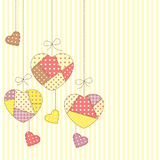 Romantic patchwork Royalty Free Stock Photography