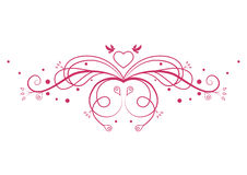 Romantic pattern Royalty Free Stock Images