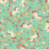 Romantic Pattern Royalty Free Stock Photo