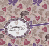 Romantic  pattern. Royalty Free Stock Photography