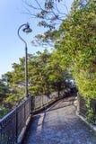 Romantic peak way in Hong Kong Stock Photo
