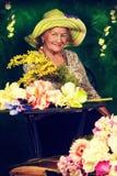 Romantic pensioner Royalty Free Stock Photo